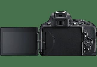 NIKON D5600 Body Spiegelreflexkamera, Full HD, Touchscreen Display, Schwarz