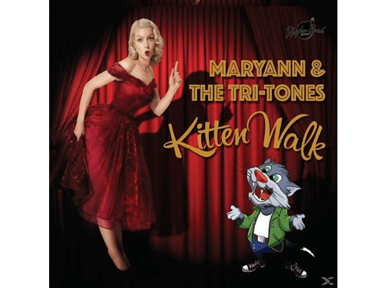 Maryann & The Tri-tones - Kitten Walk [CD]