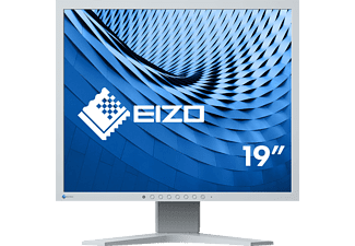 EIZO S 1934 H-GY 19 Zoll Monitor (14 ms Reaktionszeit, 60 Hz)