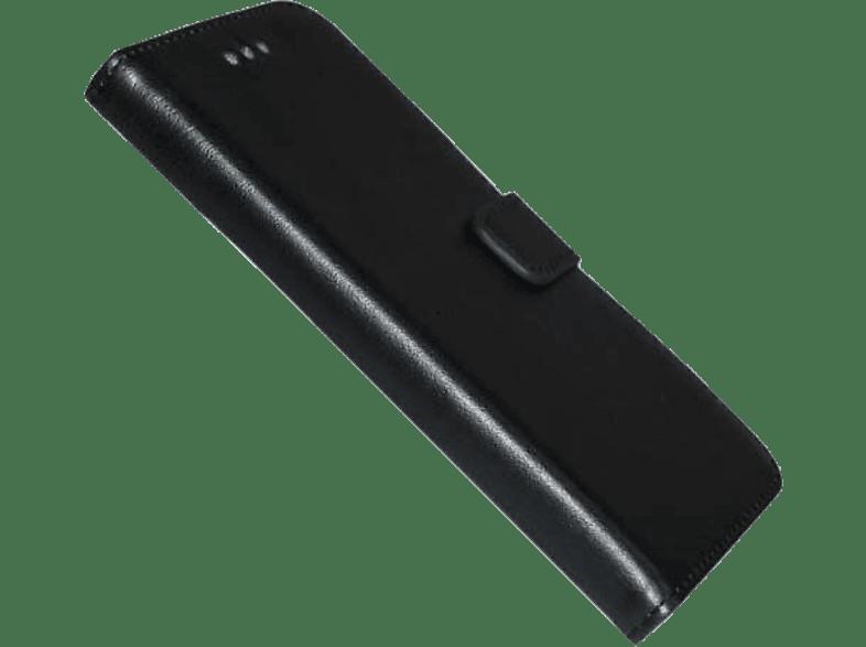 AGM 26425 , Bookcover, Samsung, Galaxy S7 Edge, Obermaterial Kunstleder, Schwarz