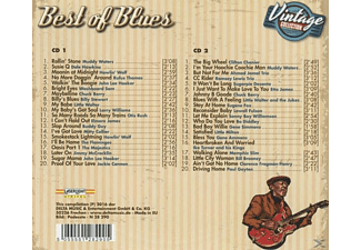 VARIOUS - Best Of Blues-Vintage Collection  - (CD)