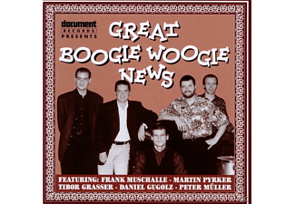 VARIOUS, Muschalle, Frank / Gugolz, Daniel / Müller, Peter - Great Boogie Woogie News  - (CD)