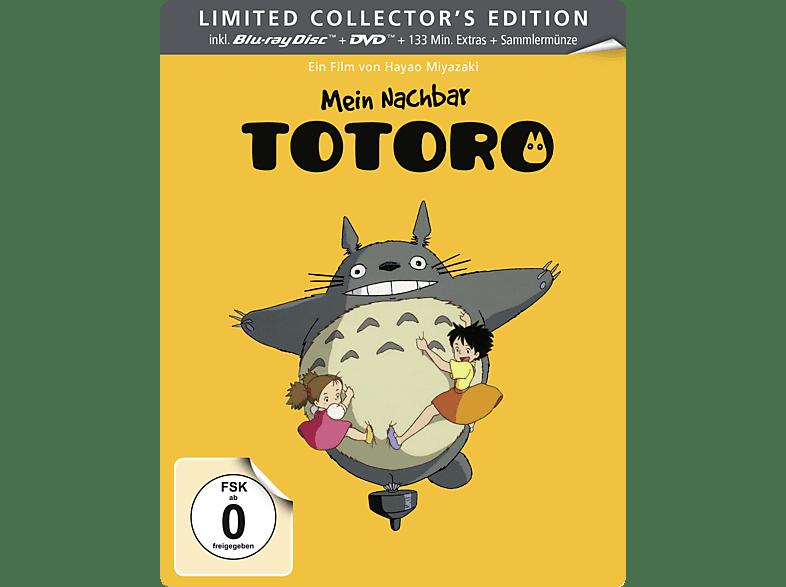 Mein Nachbar Totoro BD + DVD (Limited Steelbook Edition) [Blu-ray + DVD]