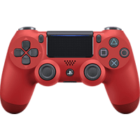 SONY PlayStation 4 Wireless Dualshock 4 v2 Controller} Magma Red
