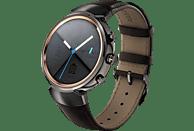 ASUS ZenWatch 3 (WI503Q) Smartwatch 316L-Edelstahl/Grau Leder, 118 mm, Braun