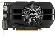 ASUS GeForce® GTX 1050Ti Phoenix 4GB (90YV0A70-M0NA00) (NVIDIA, Grafikkarte)