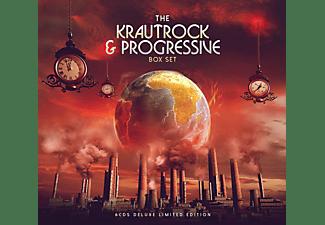 VARIOUS - Krautrock & Progressive Boxset  - (CD)