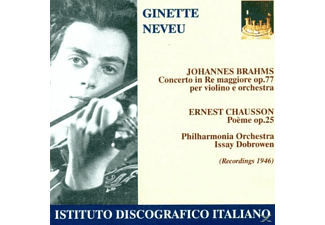 Ginette Neveu - Ginette Neveu Plays Brahms & Chausson  - (CD)