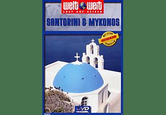 Weltweit: Santorini / Mykonos DVD