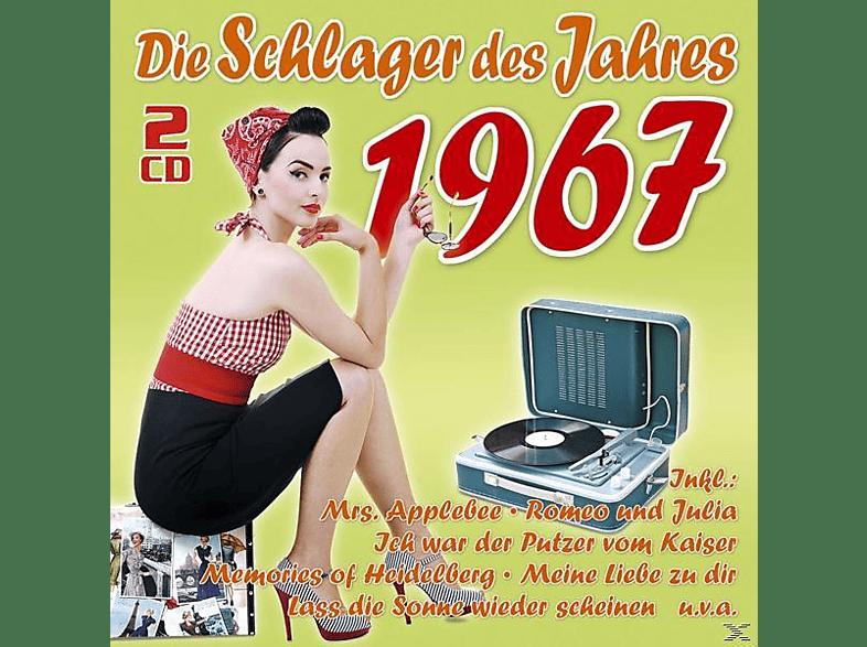 VARIOUS - Die Schlager Des Jahres 1967 [CD]