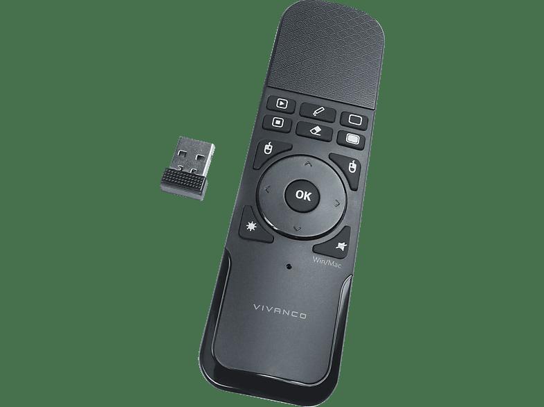 VIVANCO schnurlose, Wireless Presenter mit Mausfunktion