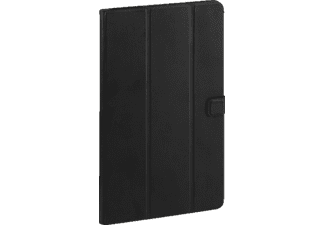 VIVANCO Folio Case Tablethülle Bookcover für Samsung Kunstleder, Schwarz