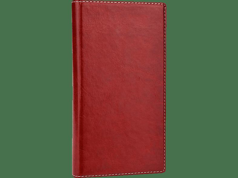 Bookstyle  Universal Kunstleder Rot