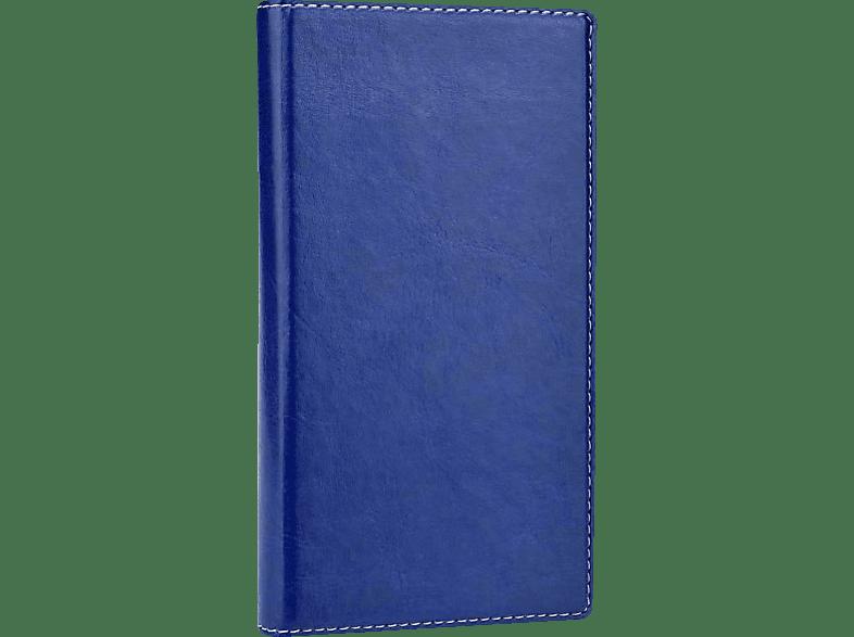 Bookstyle  Universal Kunstleder Blau