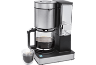 PRINCESS 01.246002.01.001 Superior Kaffeemaschine Edelstahl/Schwarz