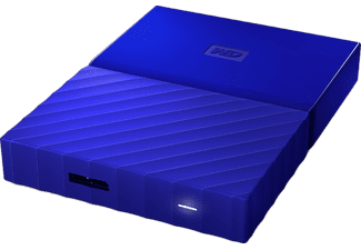 WD My Passport 1TB Portable HDD USB 3.0 Blue