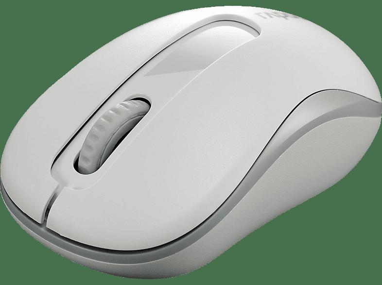 RAPOO M10 Plus Maus, Weiß