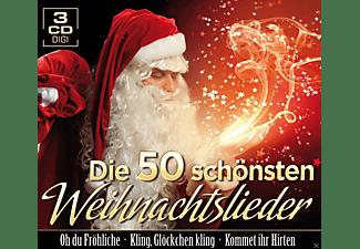 VARIOUS - Die 50 schönsten Weihnachtslie  - (CD)