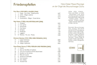 Hans-dieter Meyer-moortgat - Friedenspfeiffen [CD]