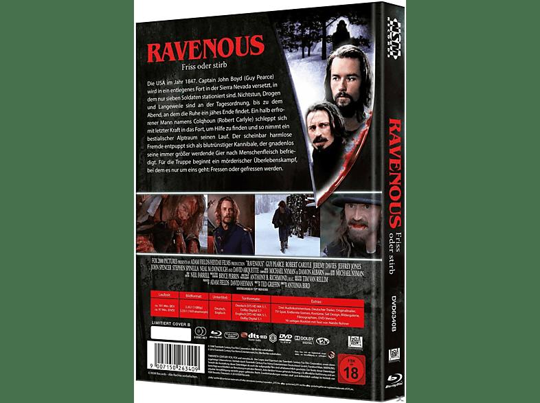 Ravenous: Friss oder stirb [Blu-ray + DVD]