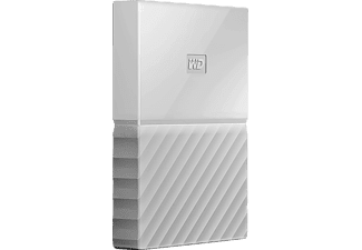 "Disco duro 1 TB -Western Digital My Passport, USB 3.0, 2.5"", Blanco"