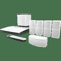 BOSE Lifestyle 600 5.1 Heimkino-System (Bluetooth, App-steuerbar, Weiß)