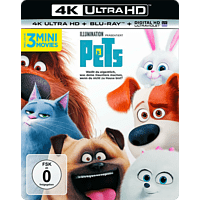 Pets [4K Ultra HD Blu-ray + Blu-ray]