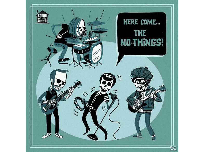 The No-Things - Here Come... [Vinyl]