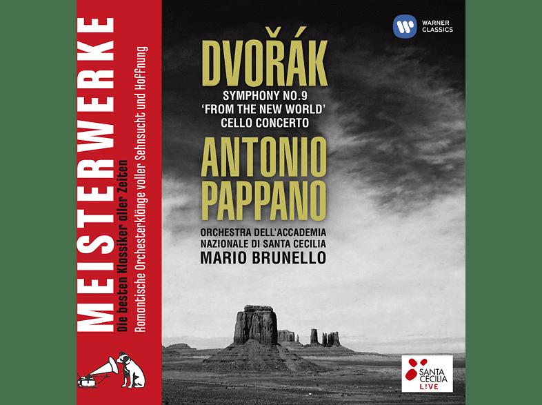 Antonio Pappano, Roma Orchestra Dell' Accademia Nazionale Di Santa Cecilia, Mario Brunello - Symphony No. 9 'from The New World' - Cello Concerto [CD]