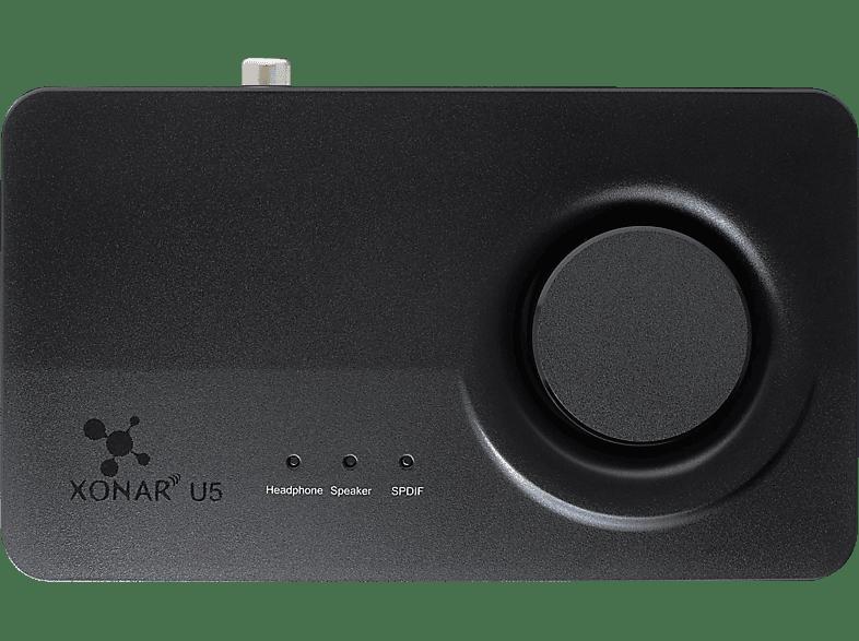 ASUS Xonar U5, externe Soundkarte