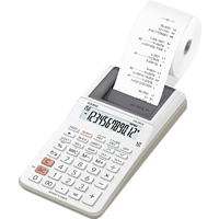 CASIO HR-8RCE-WE Druckender Tischrechner