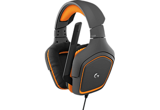 Auriculares gaming - LOGITECH Logitech G231 Prodigy Binaurale Diadema Negro, Naranja