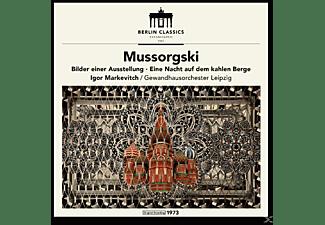 Igor Markevitch, Gewandhausorchester Leipzig - Established 1947,Mussorgski (Remaster)  - (CD)