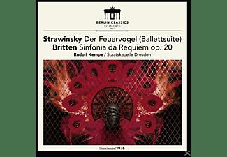 Rudolf & Staatskapelle Dresden Kempe - Established 1947,Strawinski & Britten (Remaster)  - (Vinyl)