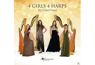 4 Girls 4 Harps - 4 Girls 4 Harps At Christmas - (CD)