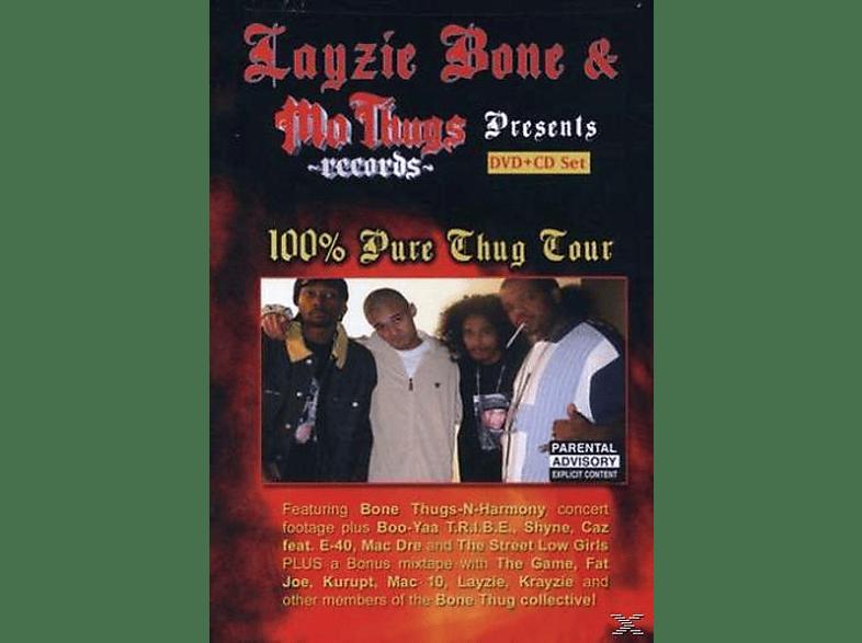 Bone Layzie & Mo Thugs - Layzie Bone & Mo Thugs Records Presents 100% Pure [DVD]