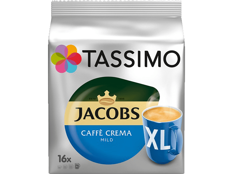 TASSIMO 4031523 Caffè Crema Mild XL Kaffeekapseln (Tassimo)