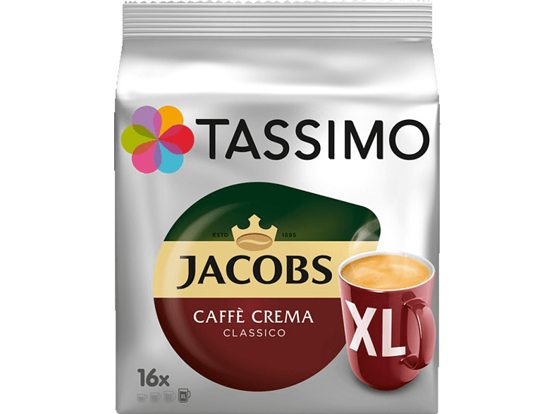 TASSIMO 4031501 Caffè Crema Classico  Kaffeekapseln (Tassimo)