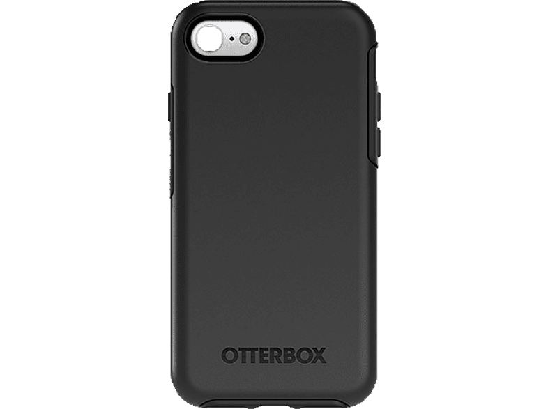 OTTERBOX 77-53947 Symmetry , Backcover, Apple, iPhone 7, Schwarz