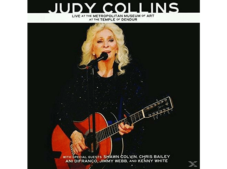 Judy Collins - Live At The Metropolitan Museum Of Art [CD + Buch]
