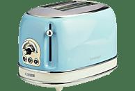 ARIETE 00C015515AR0 Toaster Creme/Hellblau (810 Watt, Schlitze: 2)