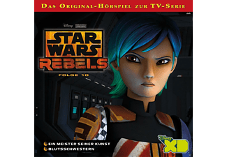Star Wars Rebels - Folge 10: Ein Meister seiner Kunst  - (CD)