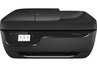Impresora multifunción - HP OfficeJet 3833, Color, 8.5/6 ppm, 1200x1200, Impresión móvil, WiFi, USB, 512 MB