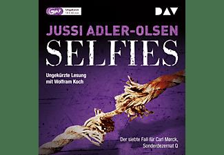 Jussi Adler-olsen - Selfies. Der siebte Fall für Carl Mørck, Sonderdezernat Q  - (MP3-CD)