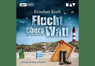Krischan Koch - Flucht übers Watt.Ein Nordsee-Krimi  - (MP3-CD)