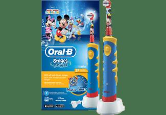 ORAL-B Stages Power Micky Maus elektrische Zahnbürste Blau/Gelb