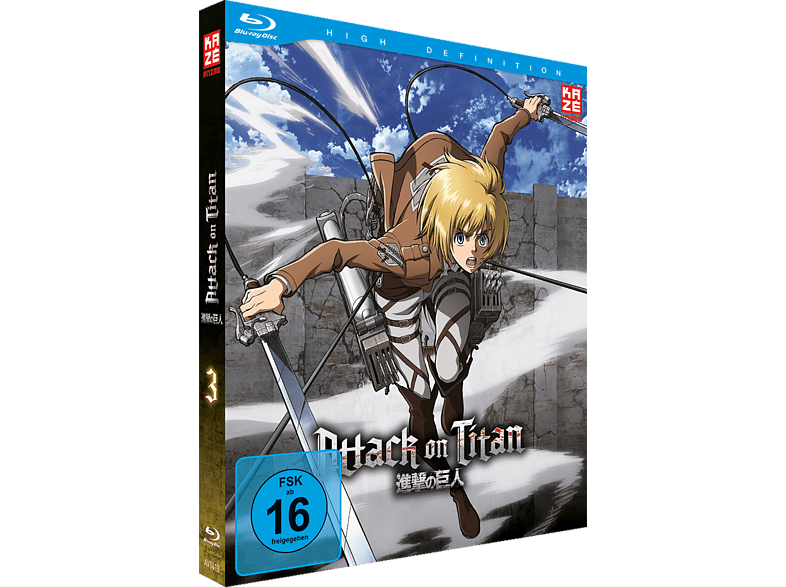 Attack on Titan Vol. 3  [Blu-ray]