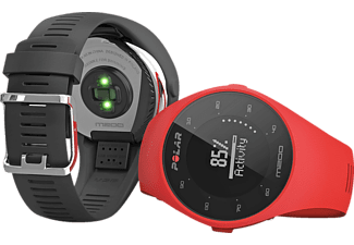 Reloj deportivo - Polar M200, Rojo, PS, Bluetooth