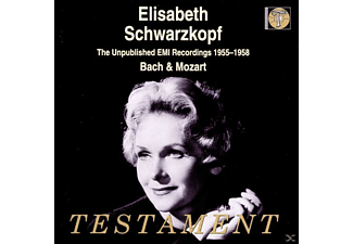 Elisabeth/Phil.O. Schwarzkopf - The Unpublished Emi-Recordings - (CD)
