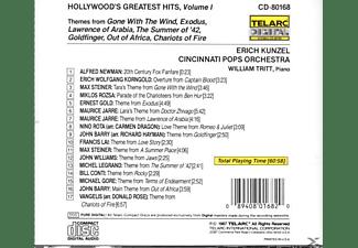 Erich & Cincinnati Pops Orchestra Kunzel - Hollywood's Greatest Hits  - (CD)
